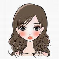 赤ら顔女性