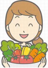 野菜を選ぶ