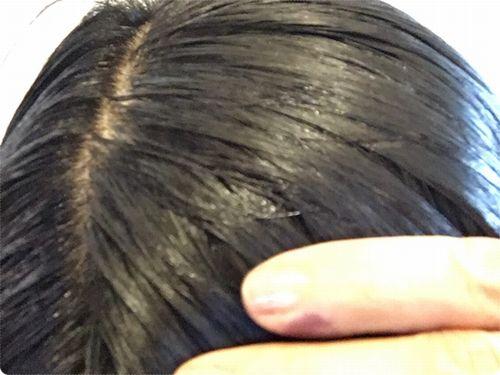 乾いた髪にルプルプ